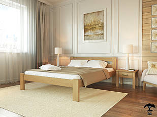 Ліжко односпальне 80х200 в спальню дерев'янне буковеСоня Лев