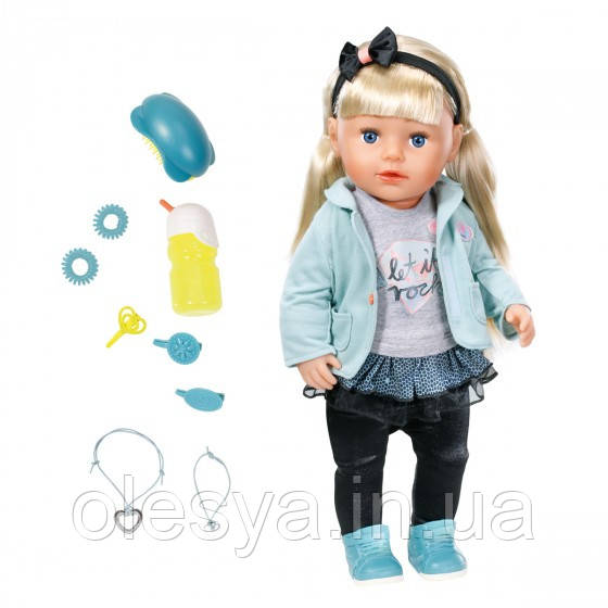 Кукла BABY BORN - СЕСТРЁНКА-МОДНИЦА-  Лучший подарок для девочки
