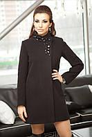 Демисезонное кашемировое женское пальто А-33, фото 1
