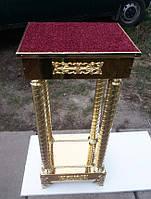 Подставка на колоннах под ковчег-мощевик