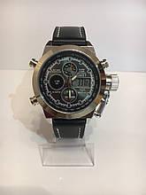 Чоловічі наручні годинники AMST, срібло з чорним циферблатом ( код: IBW091SB )