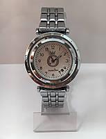 Женские наручные часы Pandora (Пандора), корпус серебристый хром с белым  циферблатом bfef2dbde0b