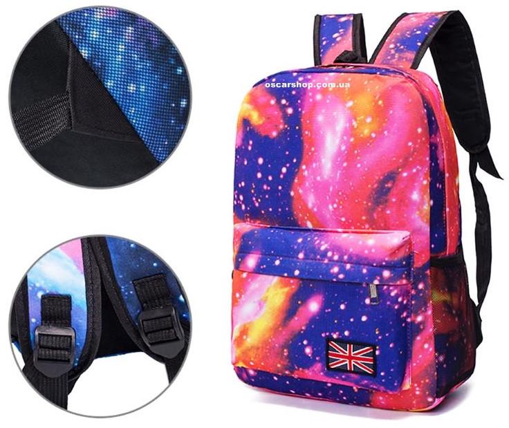 4c4a4d1bccc0 Женский рюкзак Галактика. Космический рюкзак. Выбор. Сумка портфель  Вселенная. СР35