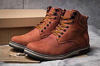 Зимние ботинки на меху Timberland, рыжий (30871),  [  42 43 44 45  ]