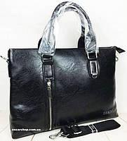 e205b9641c5d Качественный мужской портфель для документов. Стильная офисная сумка мужская.  Портфель для ноутбука. СП33