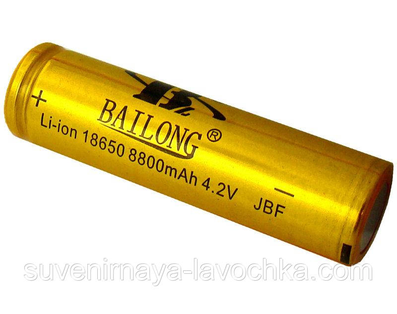 Аккумулятор 18650 Bailong Gold 8800 mAh