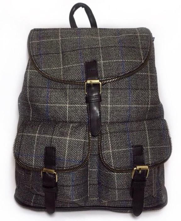 Женский рюкзак в клетку шотландка. Выбор! Сумка портфель высокое качество!  СР300 b25a782f593