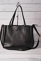 Женская сумка-шоппер Prada (Прада), черный цвет