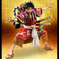 One Piece W + D POP Road Flying Kabuki Соломенная шляпа Группа KABUKI EDITION Модель Hand - Красный 1TopShop