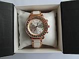 Женские часы золотистые с белым, фото 7