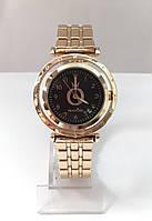 Женские наручные часы Pandora (Пандора), золотистый корпус с черным  циферблатом 61a26ab3bd0