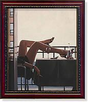 """Репродукция  современной картины Джека Веттриано (Великобритания) """"Соблазнительница"""""""