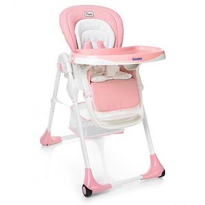 Детский стульчик для кормления EL Camino PUNTO ME 1001-8 Розовый