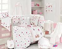 """Бамбуковый комплект для новорожденных от тм """"First choice"""" для девочки"""
