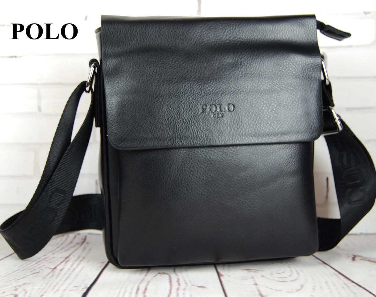 8a473f72bdf5 Мужская сумка - планшет Polo. Барсетка мужская Размер 23*20 см КС36 -  Интернет