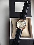Мужские наручные часы Emporio Armani  (Эмпорио Армани), золотой корпус с серебристым циферблатом, фото 2