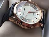 Мужские наручные часы Emporio Armani  (Эмпорио Армани), золотой корпус с серебристым циферблатом, фото 3
