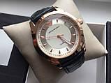 Мужские наручные часы Emporio Armani  (Эмпорио Армани), золотой корпус с серебристым циферблатом, фото 6
