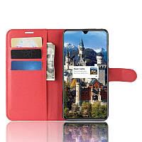 Чехол книжка для Huawei Mate 20 Красный