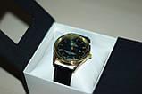 Мужские наручные часы Rolex ( Ролекс ) золото с чёрным циферблатом, фото 6