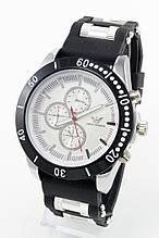 Мужские наручные часы Emporio Armani, Армани стальные с серебристым циферблатом