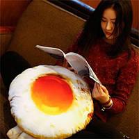 3D-симуляция Творческий съемный пашот-яйцо Большая подушка для дивана Подушка Личность Жареное яйцо Подружка День рождения Подарок - Яйцо 1TopShop