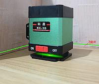 Лазерный уровень 3D Луч СНИЗУ Зеленые луч на 360 градусов  нивелир
