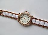 Женские наручные золотистые часы, фото 2