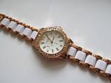 Женские наручные золотистые часы, фото 4