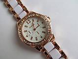 Женские наручные золотистые часы, фото 6