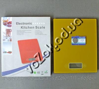 Весы кухонные электронные стеклянные квадратные до 5 кг Electronic Kitchen Scale