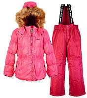 Комплект зимний для девочки GWG (2 предмета), Gusti, розовый (98)