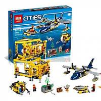 Конструктор Cities Глубоководная исследовательская база 02088 LEPIN