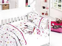 Кмплект постельного в кроватку бамбуковый