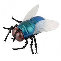 Радиоуправляемая игрушка SUNROZ Giant Fly игрушечная Муха на р/у Синий