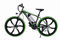Электровелосипед Porshe electrobike RD Зеленый 350, КОД: 213553