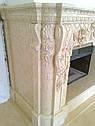 Реализованный проект камина - египетский мрамор, фото 6