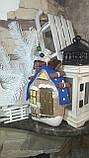 Современный коричный домик, ручная работа, разные цвета, выс.16 см., 140/120 (цена за 1 шт. + 20 гр.), фото 3