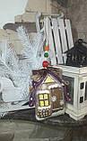 Современный коричный домик, ручная работа, разные цвета, выс.16 см., 140/120 (цена за 1 шт. + 20 гр.), фото 5