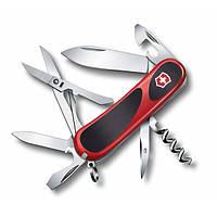 Victorinox Викторинокс нож Delemont EvoGrip 14 14 предметов 85 мм красно черный нейлон