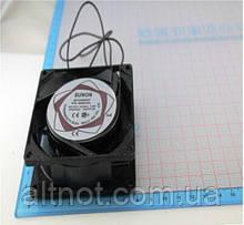 Вентилятор корпусной80х80х25мм. SUNON SF8025AT  220В. 16Вт.