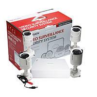 2МП Комплект видеонаблюдения Hikvision DS-J142I/7104HGHI-F1 (4 out)