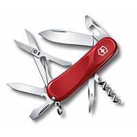 Victorinox Викторинокс нож Delemont Evolution 14 14 предметов 85 мм красный нейлон