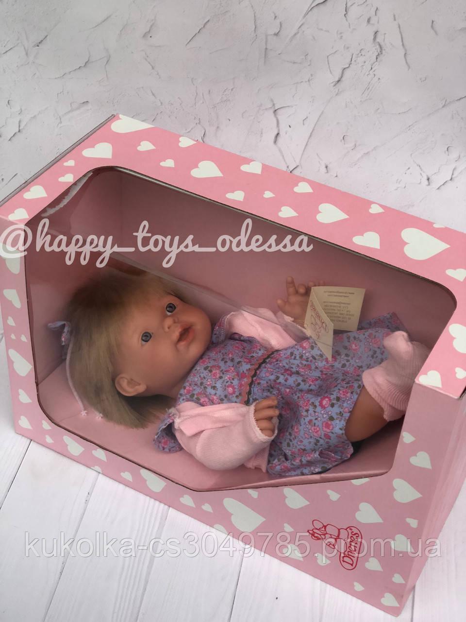 Кукла твердотелая D'nenes 44 см оригинал Испания