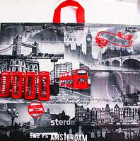 Пакет полиэтиленовый Петля Амстердам 58.5 х49 см / уп-25шт