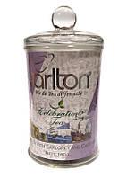 Чай черный с бергамотом Tarlton Celebration Tea 160 в стеклянной банке