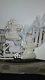 Рождественский ангел с пожеланиями, ручная работа, натуральный лен, выс. 16 см., 95/80 (цена за 1 шт. + 15 гр), фото 3