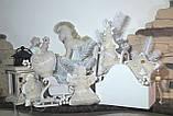 Рождественский ангел с пожеланиями, ручная работа, натуральный лен, выс. 16 см., 95/80 (цена за 1 шт. + 15 гр), фото 4