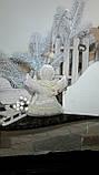 Рождественский ангел с пожеланиями, ручная работа, натуральный лен, выс. 16 см., 95/80 (цена за 1 шт. + 15 гр), фото 5