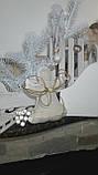 Рождественский ангел с пожеланиями, ручная работа, натуральный лен, выс. 16 см., 95/80 (цена за 1 шт. + 15 гр), фото 6